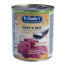 Dr.Clauder Pre Biotics Pute Reis - с пуешко месо и ориз 400 гр.