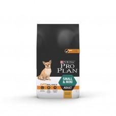 PURINA® PRO PLAN® Dog Small & Mini Adult с OPTIBALANCE за кучета в зряла възраст от дребни и мини породи, суха храна, Пиле, 7kg
