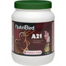 VERSELE LAGA NutriBird А21 за ръчно хранене на средни и големи папагали 800гр