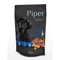 Piper Adult - Премиум пауч за кучета над 1 година с агне, морков и кафяв ориз - 500 гр.