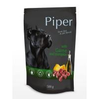 Piper Adult - Премиум пауч за кучета над 1 година с дивеч и тиква - 500 гр.