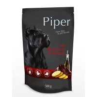 Piper Adult - Премиум пауч за кучета над 1 година с телешки дроб и картофи - 500 гр.