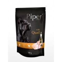 Piper Adult - Премиум пауч за кучета над 1 година с пъдпъдък - 500 гр.
