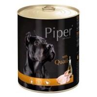 Piper Adult - Премиум консервирана храна за кучета над 1 година с пъдпъдък - 400 гр.