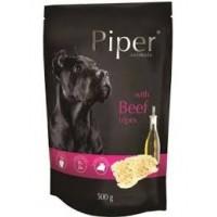 Piper Adult - Премиум пауч за кучета над 1 година с говеждо шкембе - 500 гр.