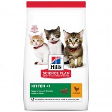 Hill's SP Feline Kitten Healthy Development Chicken /с пилешко/ 1.5кг - За котенца от отбиването до 1 година. Котки по време на бременност и кърмене