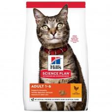 Hill's SP Feline Adult Optimal Care Chicken /с пилешко/ 1.5кг - За котки от 1 до 7 години