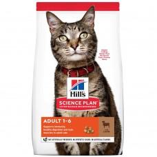 Hill's SP Feline Adult OptCare Lamb / с агнешко месо/ 0,3кг - За котки от 1 до 7 години.