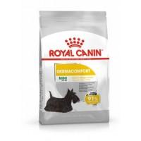 Royal Canin SHN MINI DERMACOMFORT Пълноценна суха храна за кожа и козина, за кучета от малки породи на възраст над 10 месеца  /1кг/