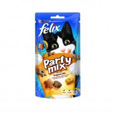PURINA® FELIX® PARTY MIX лакомство за котки в зряла възраст,Оригинален Микс ,60 гр.