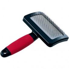 Ferplast - Голяма четка за фино разресване + гребенче за почистване, за отстраняване на подкосъм.