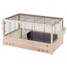 FERPLAST Оборудвана дървена клетка за зайци ARENA 100 ,100x62,5x51см