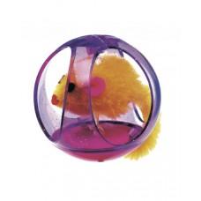 Играчка за коте мишка в топка