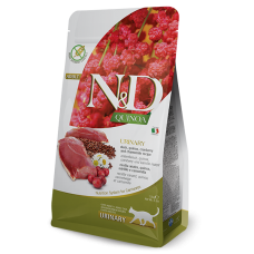 N&D CAT QUINOA URINARY С ПАТИЦА 0.300 KG