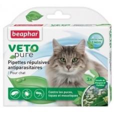 Beaphar Bio Spоt On Cat - ,за котки над 12 седм., 3 броя, репелентни капки