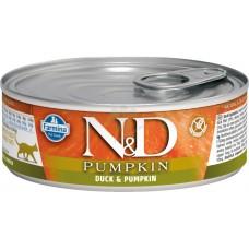 N&D Cat Duck & Pumpkin - с патешко месо и тиква 80 гр.