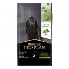 PURINA ® PRO PLAN ® NATURE ELEMENTS ® BALANCED START за бебета кучета от средни и едри породи, суха храна, Агне, 10 kg