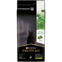 PURINA ® PRO PLAN ® NATURE ELEMENTS ® BALANCED START за бебета кучета от дребни и мини породи, суха храна, Агне, 2 kg