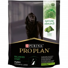 PURINA ® PRO PLAN ® NATURE ELEMENTS ® BALANCED START за бебета кучета от средни и едри породи, суха храна, Агне, 700 g