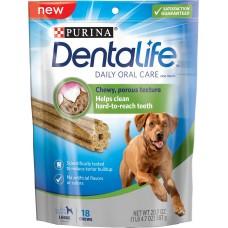 PURINA® DENTALIFE Sticks - лакомство за кучета от едри породи 142 гр.