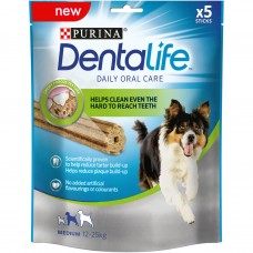 PURINA® DENTALIFE Sticks - лакомство за кучета от средни породи 115 гр.