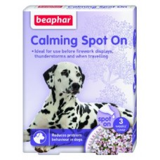Beaphar Calming Spot On dog - успокояващи пипети за кучета, 3 броя