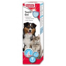 Beaphar Tooth gel – гел за зъби  куче,аромат на дроб + ензими протеаза