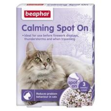 Beaphar Calming Spot On cat - успокояващи пипети за котки, 3 броя