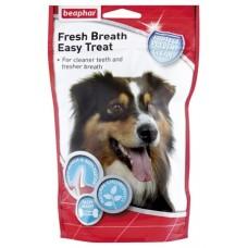 Beaphar Fresh Breath Easy Treat - 150гр, хапки за свеж дъх и чисти зъби, с хлорофил