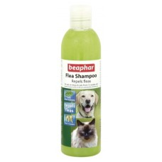 Beaphar Шампоан Flea Shampoo, репелентен шампоан с маргоза и лавандула, 250 мл.