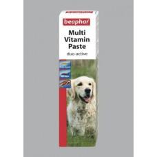 Beaphar Duo Active Paste Dog - мултивитаминна паста за кучета 100гр.