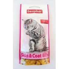 Beaphar Skin & Coat-Bits –хрупкави хапки за красива и здрава кожа и козина, плюс малцова паста,35гр