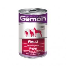 GEMON DOG Консерва хапки Adult beef&liver 415 гр. – за кучета в зряла възраст с телешко и черен дроб