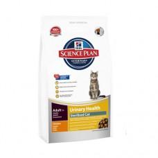 Hill's SP Feline Adult Urinary&Sterilized Cat Chicken /с пилешко/ 1,5кг - За кастрирани котки и профилактика на уринарния тракт