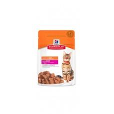 Hill's Science Plan™ Feline Adult BEEF – паучове с телешко - малки късчета в сос Грейви за котки над 1 година.