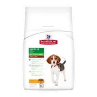 Hill's SP Dog Puppy Medium 14kg с пилешко куче