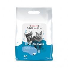 VERSELE LAGA Eye Clean Cat/Dog - напоени с лосион кърпички за ежедневна грижа за очите на кучето и котето