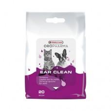 VERSELE LAGA Ear Clean Cat/Dog - напоени с лосион кърпички за ежедневна грижа на ушите на кучето и котето
